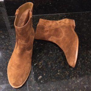 Rebekka Minkoff Brown Leather / Suede Bootie NWOT